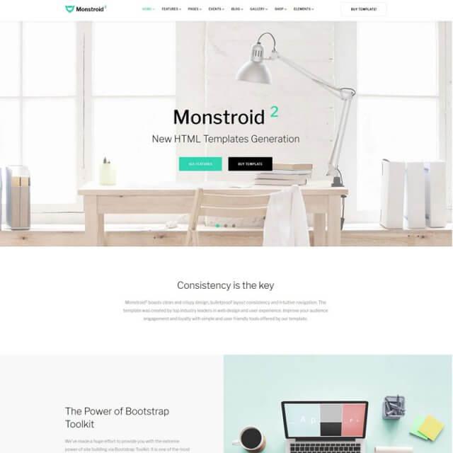 Best Business & Services HTML Website Templates