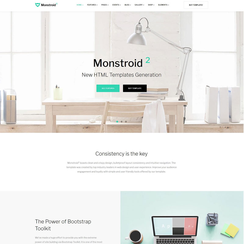 Monstroid2 - Multipurpose Website Template Website Template