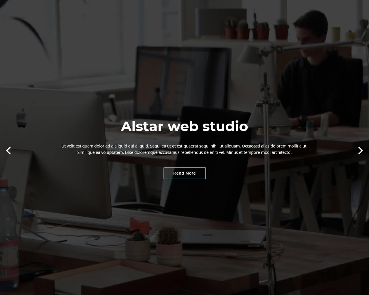 Alstar - One Page Bootstrap Template