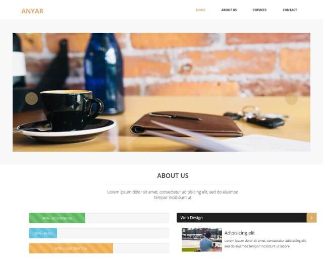 Anyar - Free Multipurpose One Page Bootstrap Theme