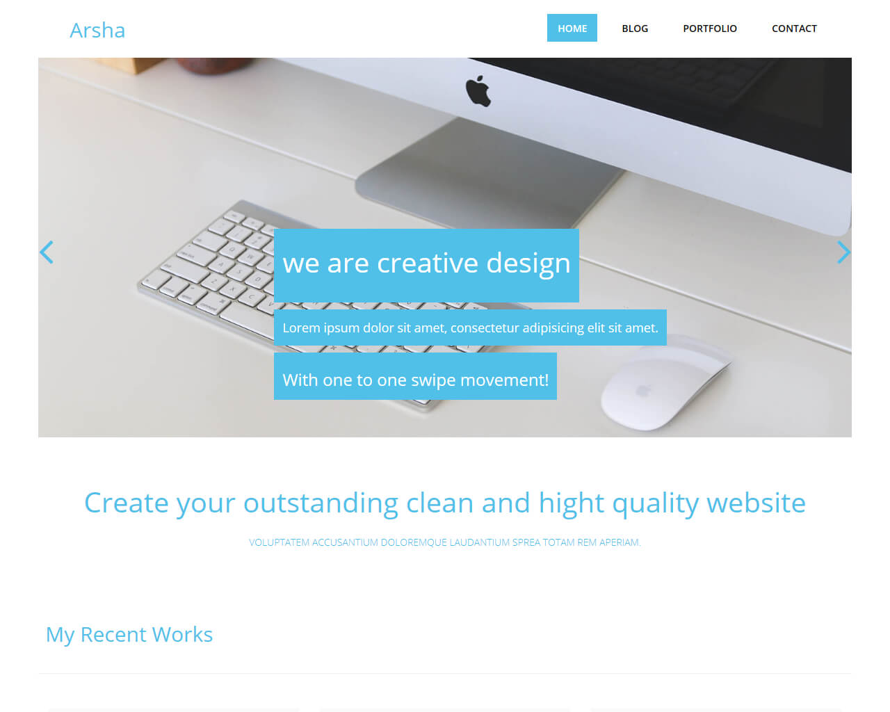 Arsha Free Bootstrap Html Template For Corporate Bootstraptaste