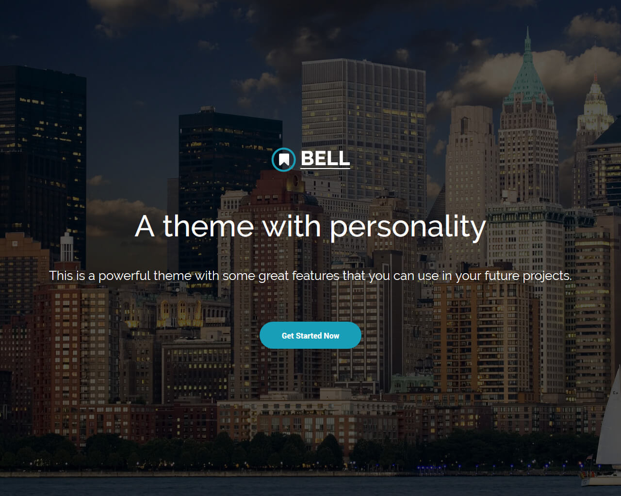 Bell – Free Bootstrap 4 Template