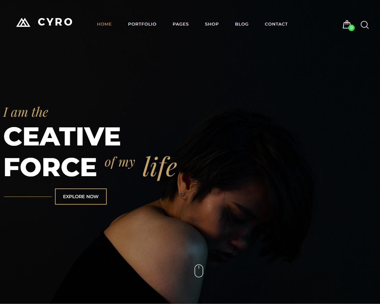 Cyro Website Template