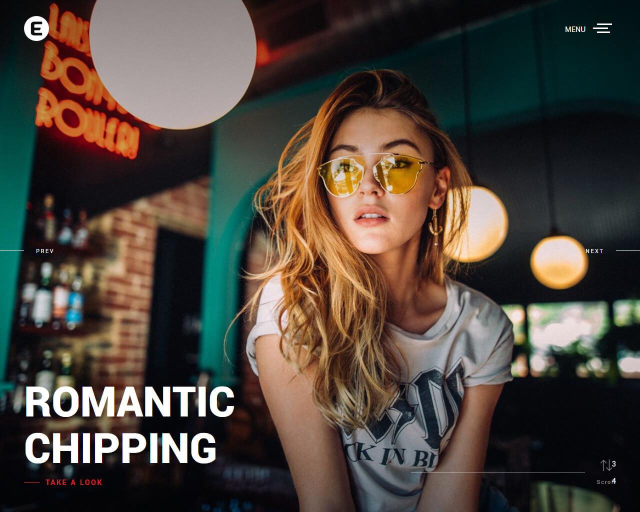 Emily Website Template