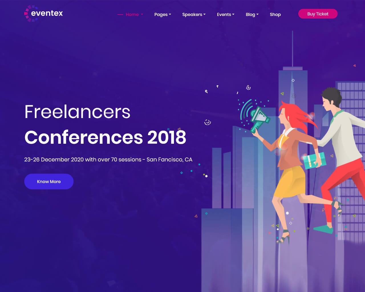 Eventex Website Template