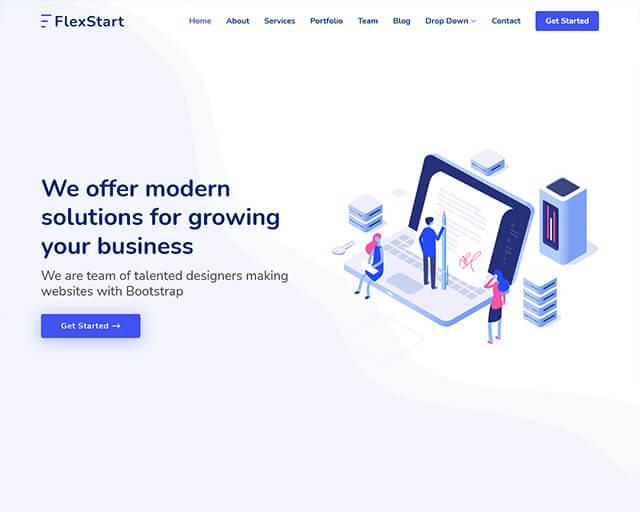 FlexStart – Bootstrap 5 Template