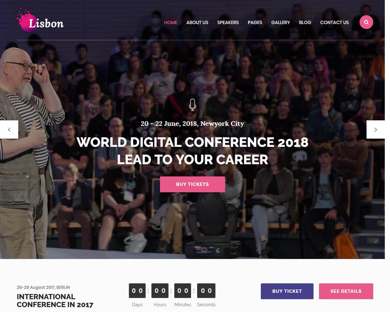 Lisbon Website Template
