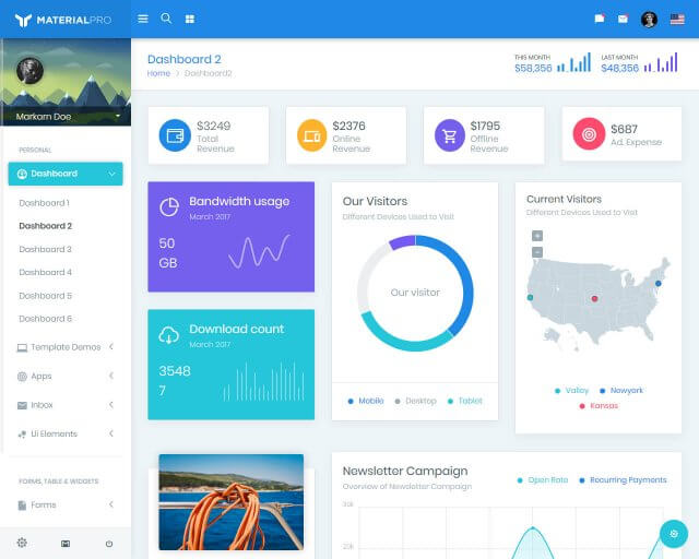 MaterialPro - Bootstrap Material Admin Template