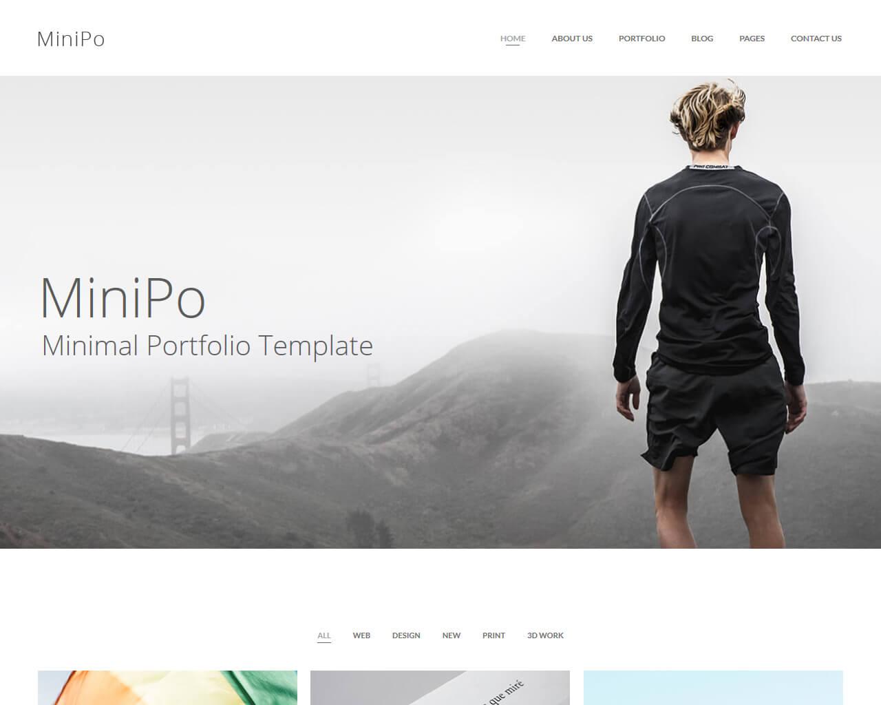 MiniPo Website Template