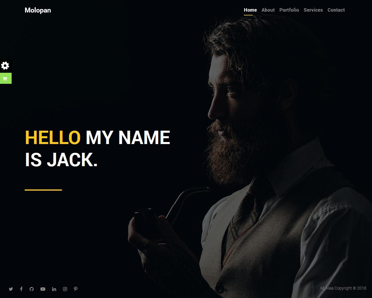 Molopan Website Template