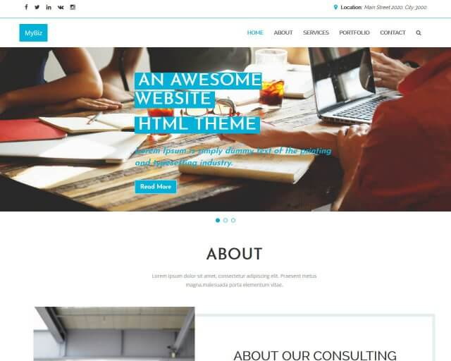 Free Bootstrap Themes and Website Templates 5b7bf27899d68