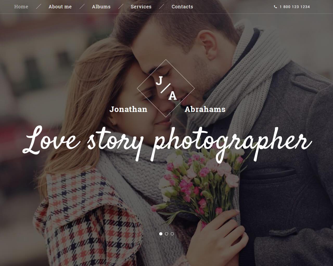 Jonathan Abraham Website Template