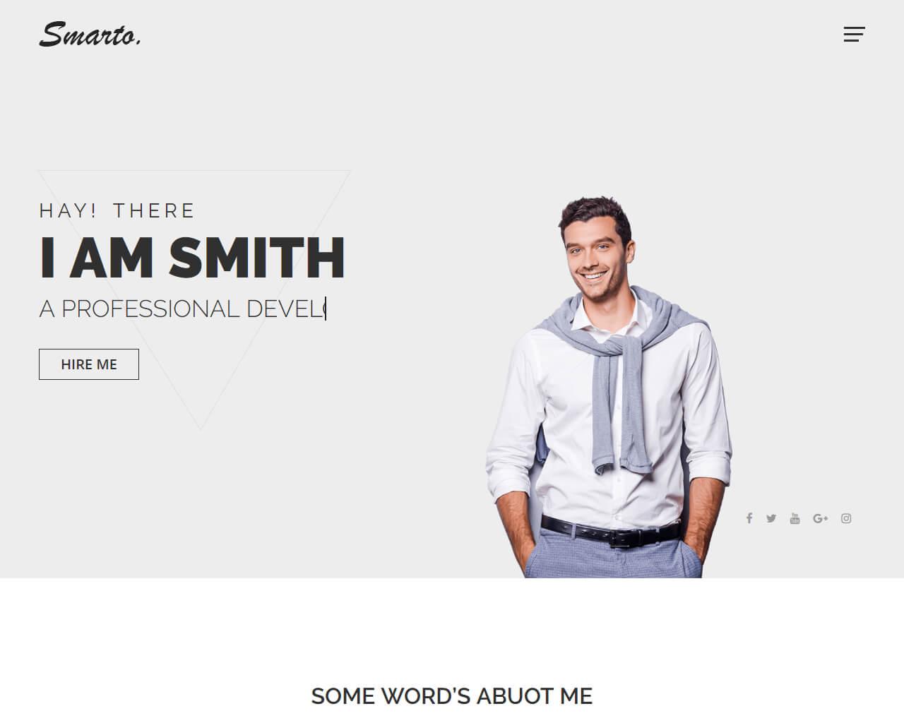 Best Creative Portfolio Website Templates To Get Inspired