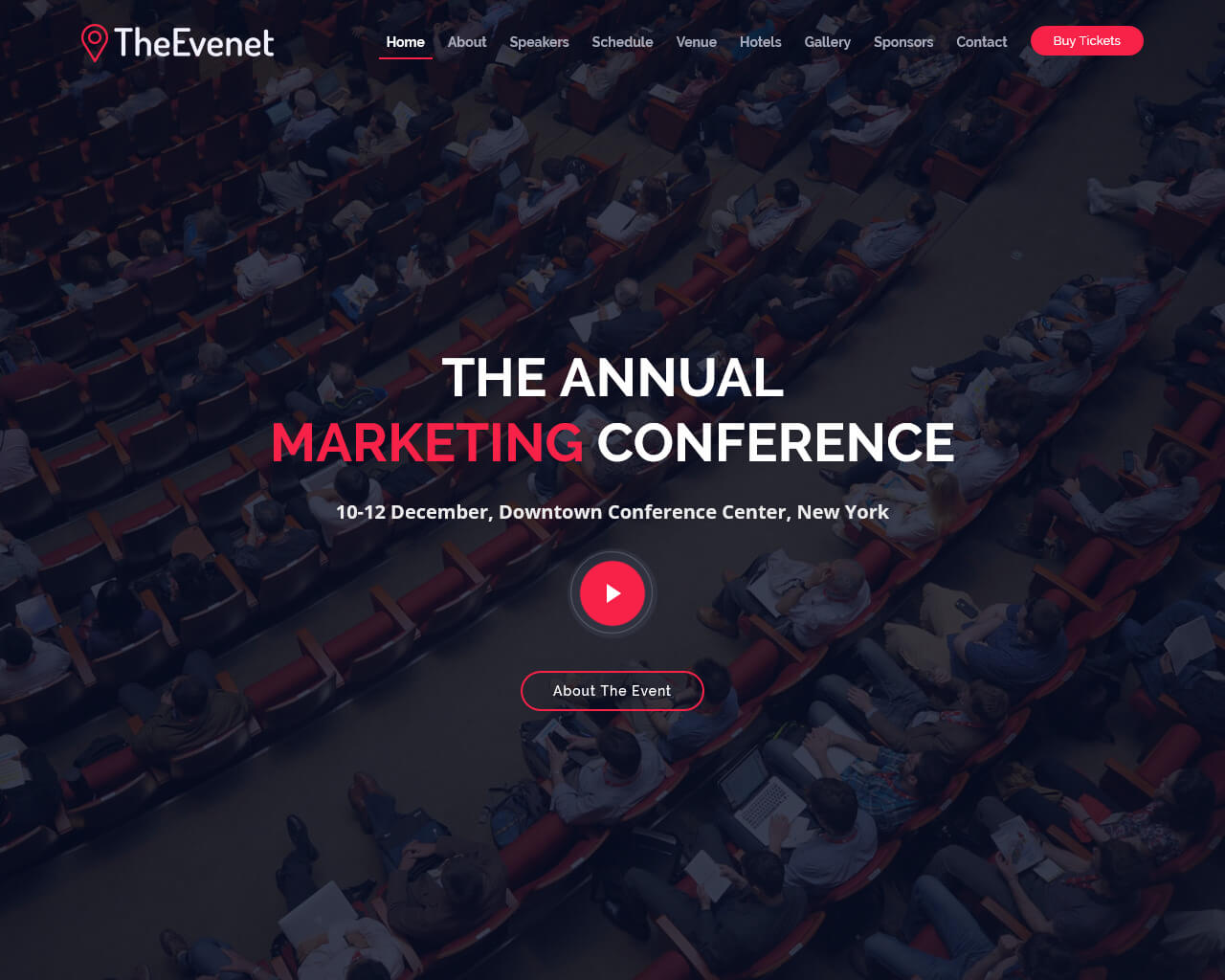 TheEvent Website Template
