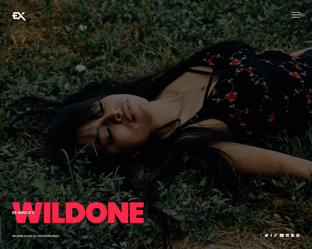 Wildone Website Template