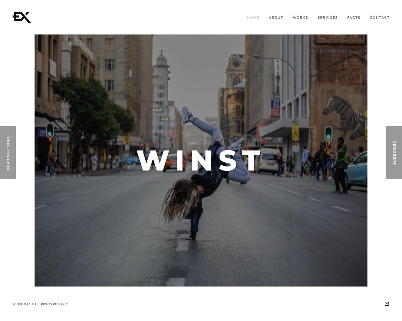 Winst Website Template